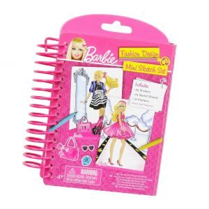 Barbie Mini Sketch Book Suunnittelulehtiö