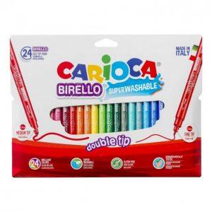 Carioca Tussi 24 Kpl Kaksipäinen Birello