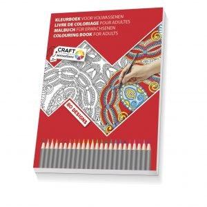 Craft Sensations Aikuisten Värityskirja 21 X 28 Cm