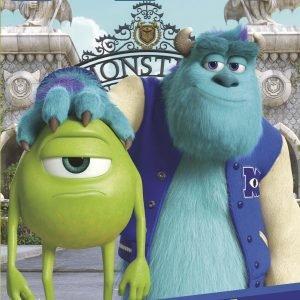 Disney Monsterit Värityskirja