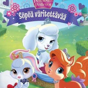 Disney Prinsessat Palatsin Pallerot Söpöä Väritettävää
