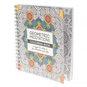 Geometric Meditations Aikuisten Värityskirja 64 Sivua