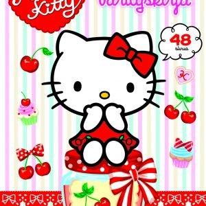 Hello Kitty Sydämellinen Värityskirja
