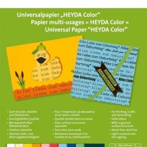 Heyda A4 100 G Color Vihko 100 Lehteä