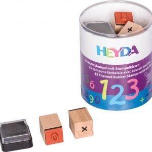 Heyda Numbers Leimasin Setti