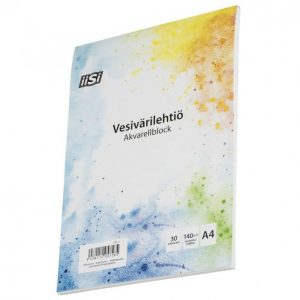 Iisi Vesivärilehtiö A4/30