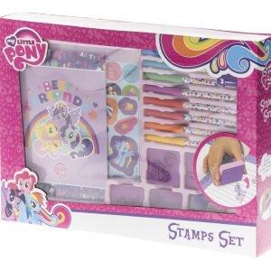 My Little Pony Leimasin- Ja Värityssetti