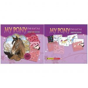 My Pony Design Askarteluvihko