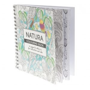 Natura Aikuisten Värityskirja 64 Sivua