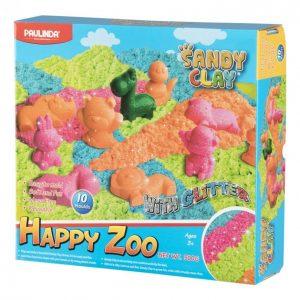 Sandy Clay Happy Zoo Taikahiekkasetti