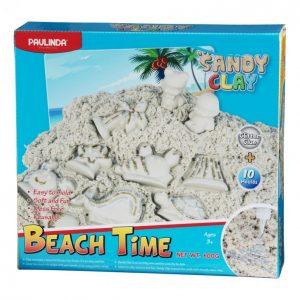 Sandy Clay Taikahiekka 600 G Beach Time Glitterliima