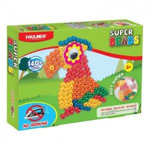 Super Beads Helmiaskartelusetti Jumbo Papukaija