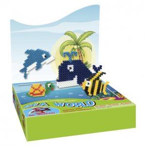 Super Beads Helmiaskartelusetti Sea World