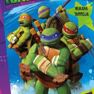 Turtles Vahvat Vinhat Ja Vihreät Puuhakirja