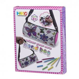 Väritettävä Käsilaukku + Tussit